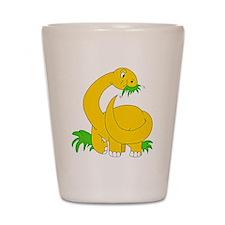Baby Brontosaurus Dinosaur Shot Glass