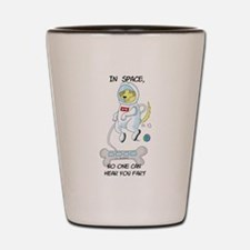 Farting In Space Shot Glass