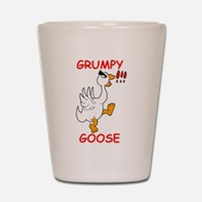 Grumpy Goose Shot Glass