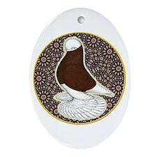 Tumbler Circle Ornament (Oval)