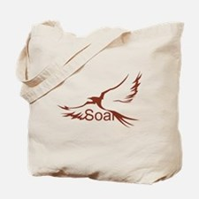 Soar Brown Tote Bag