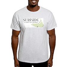 Surfside Ash Grey T-Shirt