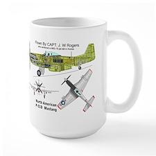 P-51 Mustang Mig Killer Mug