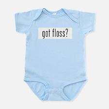 got floss? Infant Bodysuit
