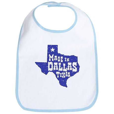 Made In Dallas Texas Bib