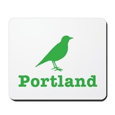 Portland Bird Art Mousepad