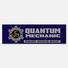 QUANTUM MECHANIC Sticker (Bumper)