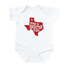 Made In Houston Texas Infant Bodysuit