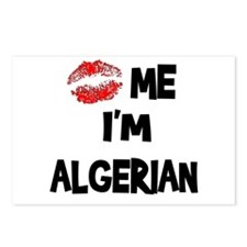 Kiss Me I'm Algerian Postcards (Package of 8)