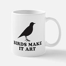 Birds Make It Art Mug