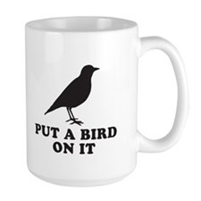 Put A Bird On It (Black) Mug