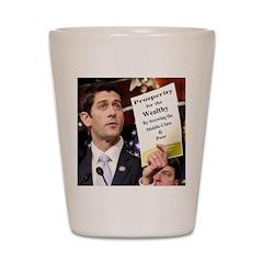 Real Paul Ryan Plan Shot Glass