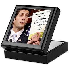 Real Paul Ryan Plan Keepsake Box
