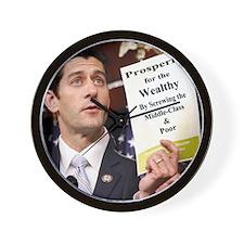 Real Paul Ryan Plan Wall Clock