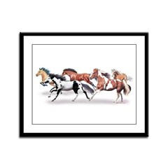 Herd Framed Panel Print