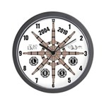 Wall Clock with LOST Frozen Wheel design