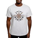 Lost Frozen Wheel T-Shirt Light Colours