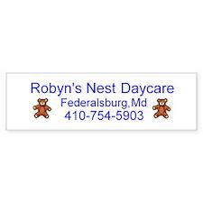 Robyn's Nest Daycare Bumper Bumper Sticker