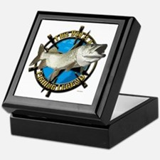Dad the fishing legend Keepsake Box
