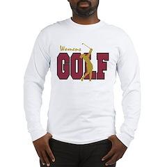 Womens Golf Long Sleeve T-Shirt