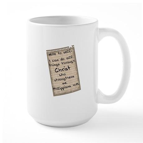 I Can Do All Things Large Mug