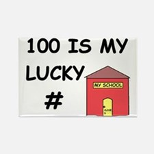 Cute Lucky number Rectangle Magnet
