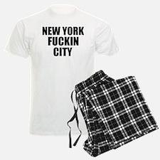 New York Fuckin City Pajamas