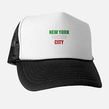 New York Fuckin City Italy Trucker Hat