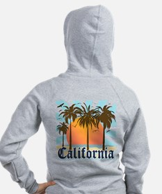Vintage California Zipped Hoody