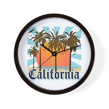 Vintage California Wall Clock