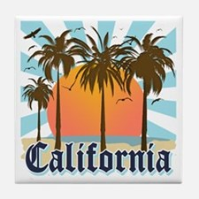 Vintage California Tile Coaster