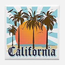 Vintage California Tile Coaster
