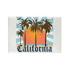 Vintage California Rectangle Magnet (10 pack)