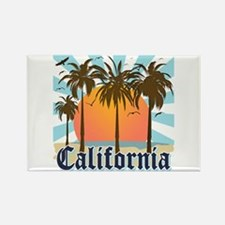 Vintage California Rectangle Magnet