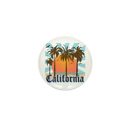 Vintage California Mini Button (10 pack)