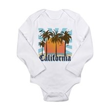 Vintage California Long Sleeve Infant Bodysuit