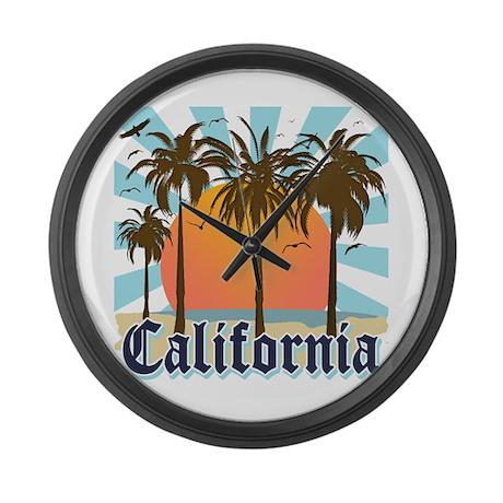 Vintage California Large Wall Clock