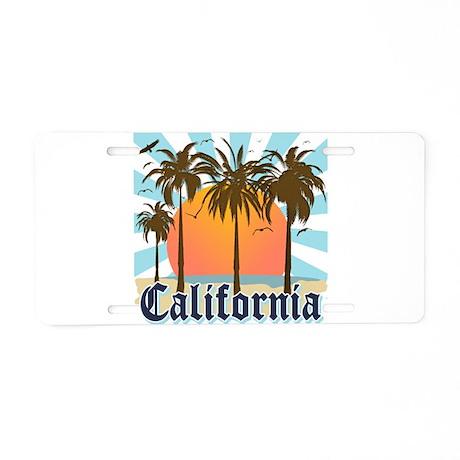 Vintage California Aluminum License Plate