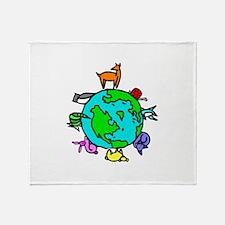 Animal Planet Rescue Throw Blanket