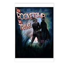 Have Rocketship Will Travel Postcards (Package of