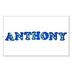 Anthony Sticker (Rectangle 10 pk)