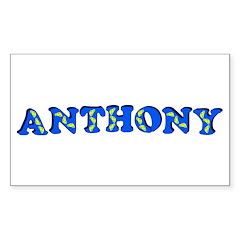 Anthony Sticker (Rectangle 50 pk)