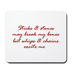 Sticks & Stones Mousepad