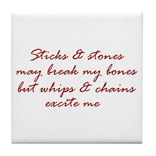 Sticks & Stones Tile Coaster