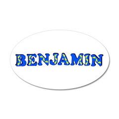 Benjamin 22x14 Oval Wall Peel