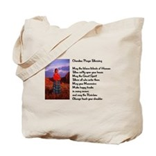 Cherokee Prayer Tote Bag