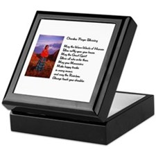 Cherokee Prayer Keepsake Box