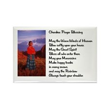 Cherokee Prayer Rectangle Magnet