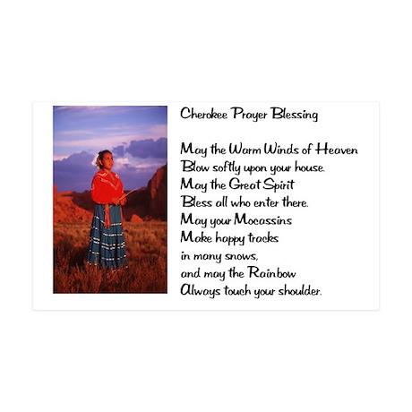 Cherokee Prayer 38.5 x 24.5 Wall Peel