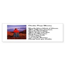 Cherokee Prayer Bumper Sticker